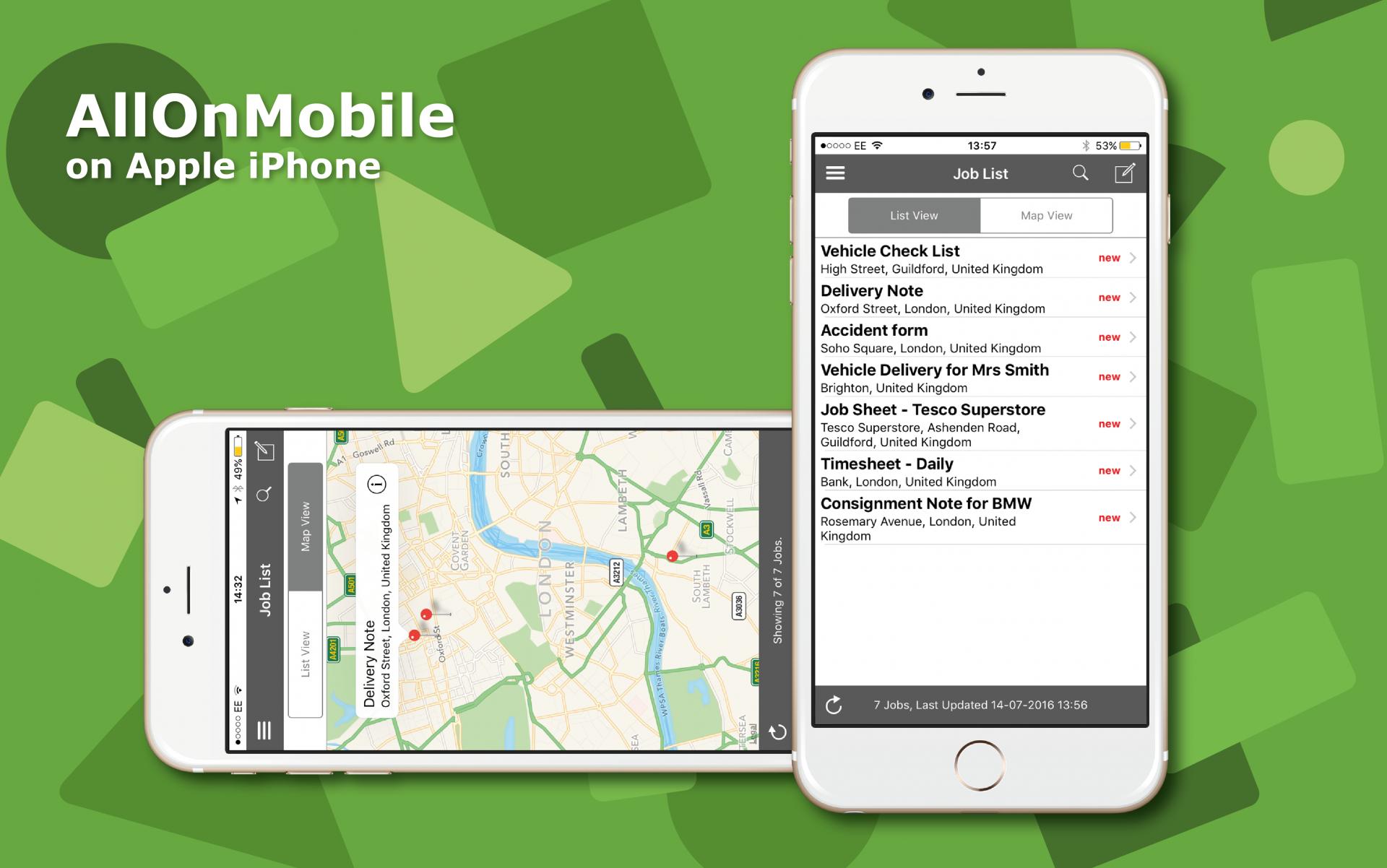 Aplicaciones móviles útiles para profesionales del transporte