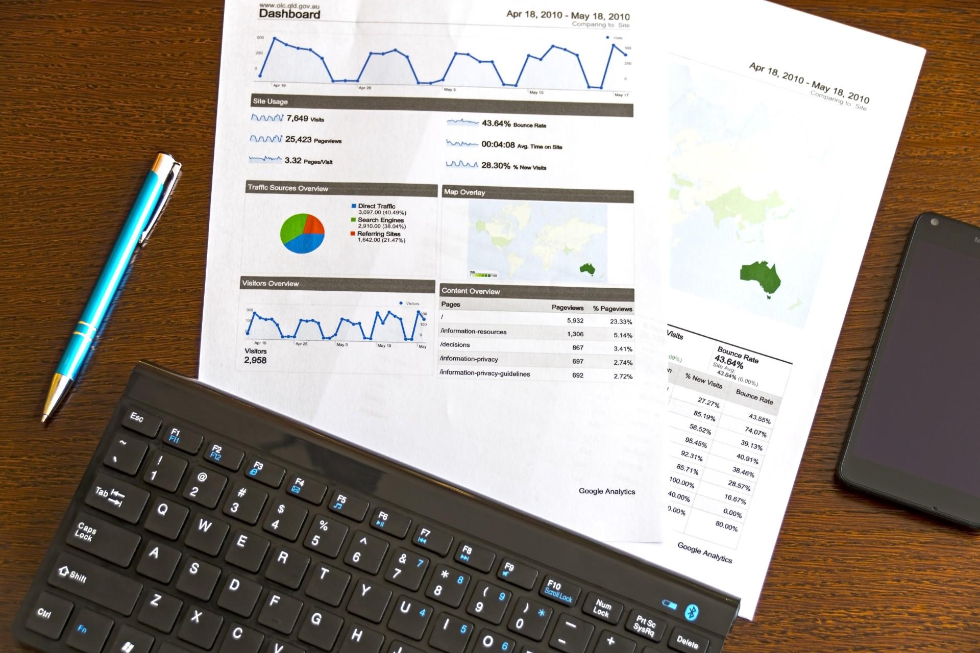 La importancia de las estadísticas y la creación de informes en una empresa de transporte