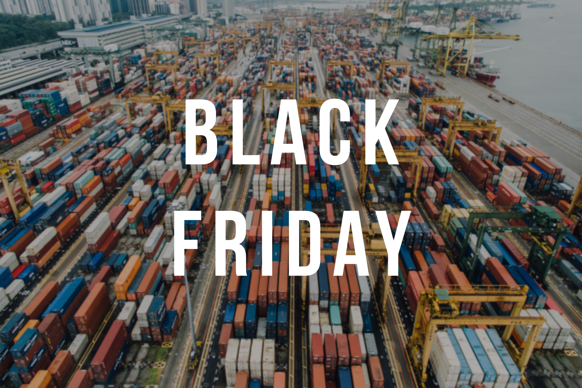 Black Friday en el sector del transporte y la logística