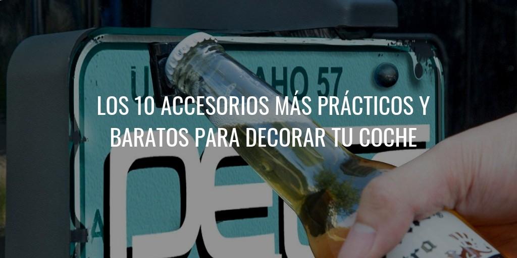 10 accesorios Low Cost para decorar tu coche