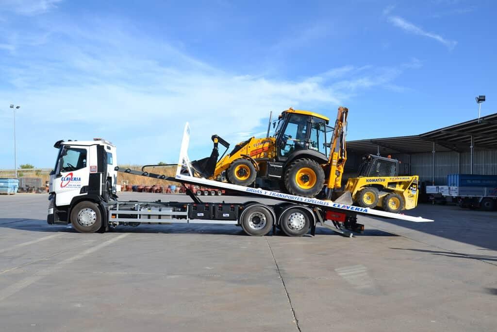 Tipos de camiones de carga terrestre