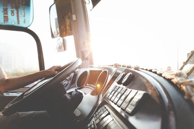 Cambio de camión con tacógrafo digital